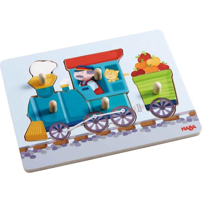 "Пазл ""Поезд"" HABA Clutching..."